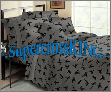 fox racing bedroom decor motocross bed in a bag full
