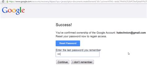 gmail password reset tool hacking gmail accounts with password reset system
