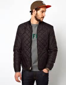 mens black quilted bomber jacket my jacket