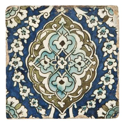 ottoman tiles a damascus pottery tile ottoman syria 17th century