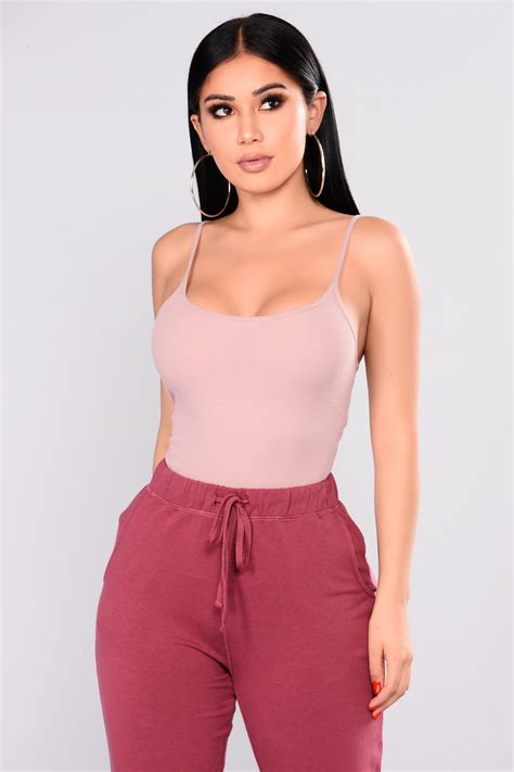 ronda top dusty pink
