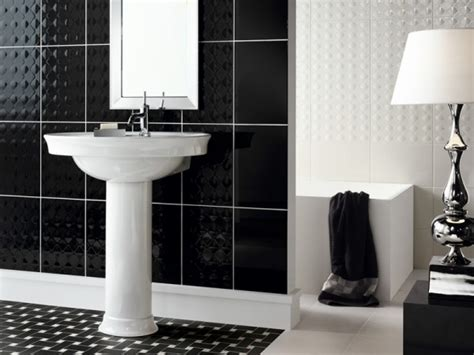 Black Bathrooms Ideas Black White Bathroom Design Ideas Interiorholic