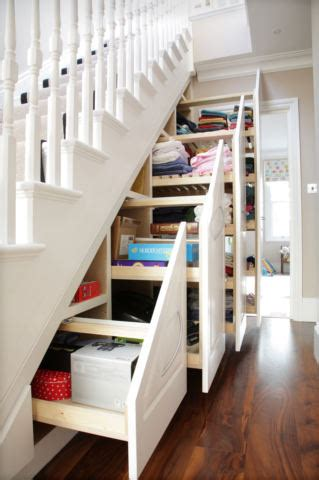 creative  clever  stair storage designs