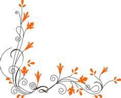 design bunga corel free frames and borders png flower border design png 360