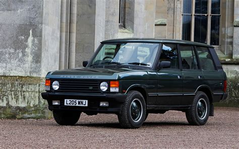 old range rover 1995 land rover range rover classic front three quarter