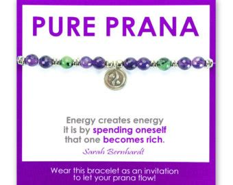 Pure Yoga Gift Card - items similar to love rosary necklace spiritual yoga healing crystal jewelry to
