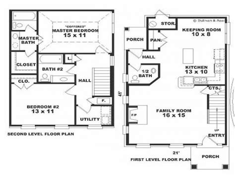 2 colonial house plans small colonial house floor plans small colonial house