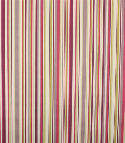 Funky Upholstery Fabric Uk by Funky Stripe Fabric Purple Just Fabrics