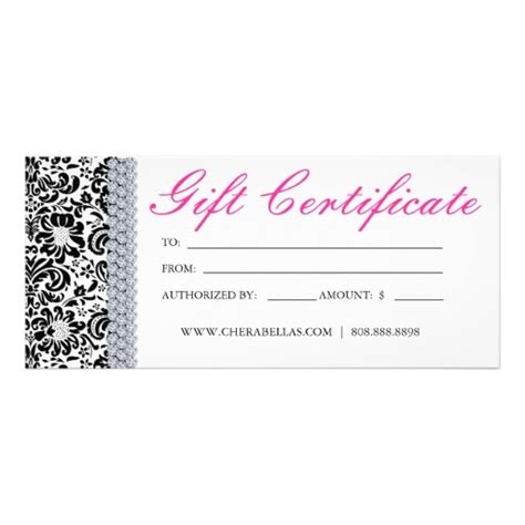 best photos of spa gift certificate template printable