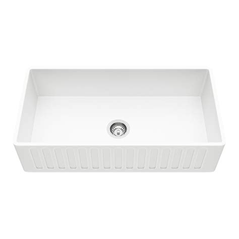 matte farmhouse sink vigo reversible farmhouse matte 36 in single bowl