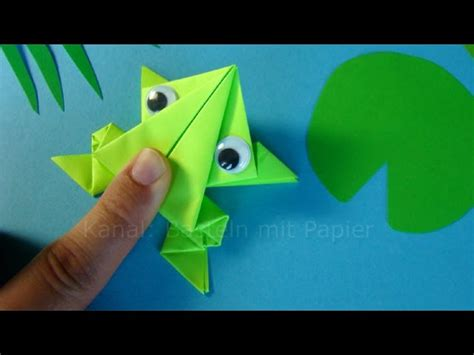 Katak Origami - katak origami versi on the spot