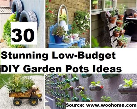 Low Budget Garden Ideas Top 30 Stunning Low Budget Diy Garden Pots And Containers Home And Tips