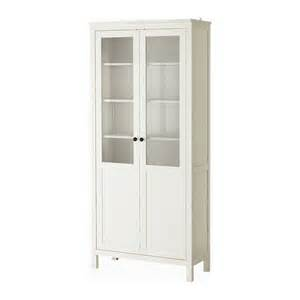hemnes cabinet with panel glass door white stain ikea