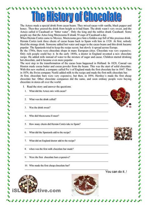 College Level Reading Comprehension Worksheets by Reading Comprehension Reading