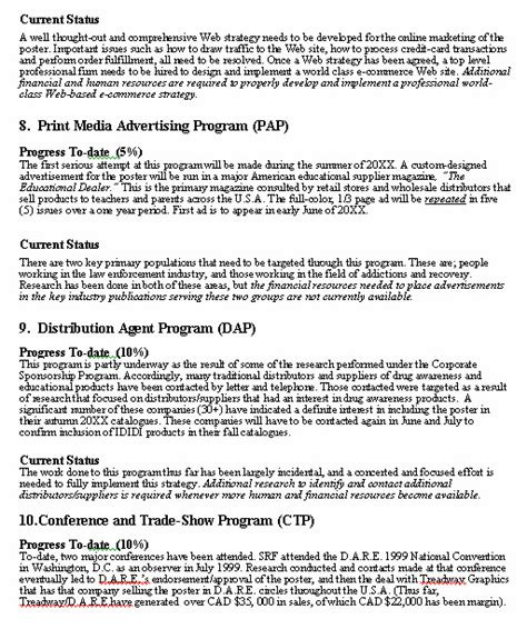business report writing sle pdf progress report format sle format for a typical