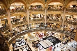 les galeries lafayette shopping parisianist city
