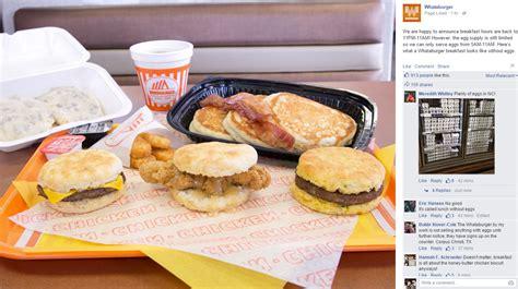 food hours on whataburger returns to normal breakfast hours despite egg