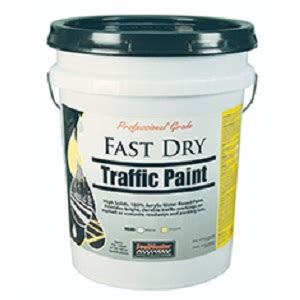 acrylic paint drying quickly fast traffic paint white trafficsafetywarehouse