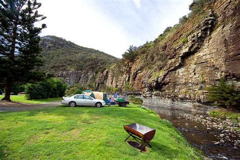 camping grounds cumberland river great ocean road lorne