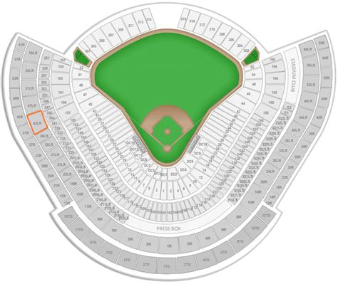 dodger stadium seating by rows los angeles dodgers dodger stadium seating chart