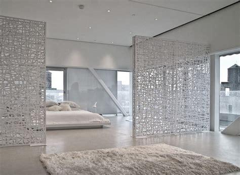 schlafzimmer wohnzimmer gleichzeitig dekorative sichtschutz und trennw 228 nde mobil f 252 r