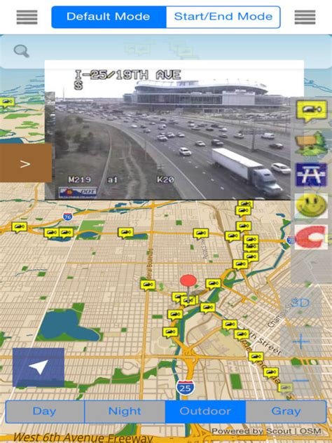 denver traffic map colorado denver offline map with traffic cameras on the app store