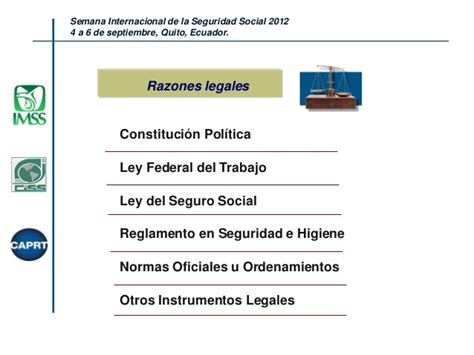 Ley De Seguridad Social Ecuador Actualizada 2012 | accidentes de trabajo