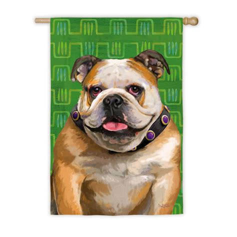 bulldog dog house bulldog dog house garden flag decorative 12 5 quot x 18 quot