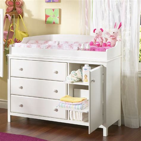 Diapers Changing Table Baby Changing Table Furniture Station Dresser Infant Storage Nursery New Ebay