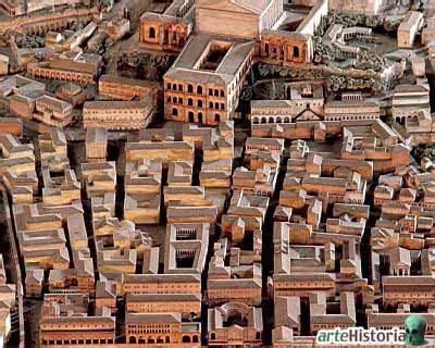 era romana historia habitat la ciudad en el imperio romano