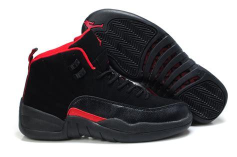 men jordan 4 c air jordan 12 mens shoes a black red online nike1061