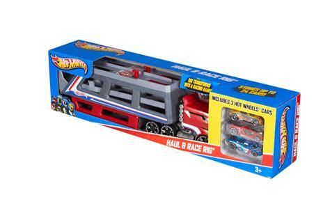 Track Racing Of Track Hotwheels Wheels 174 Haul Race Rig 174 Truck Shop Wheels Cars