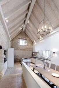 vaulted ceiling light 1000 ideas about barn conversions on barn