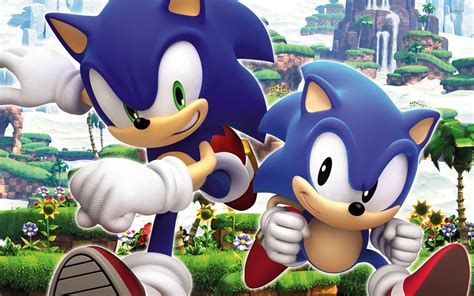 Sonic The Hedgehog Wall Stickers sonic generations wallpaper game wallpapers 14283