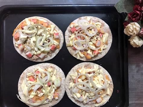 Emping Rasa Pizza cara cara buat pizza yang comfirm licin tak