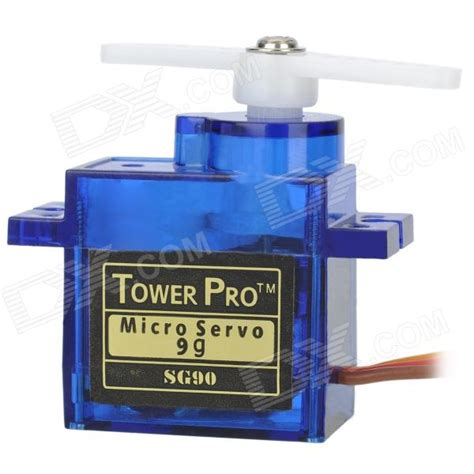 Tower Pro Micro Servo Sg90 9g towerpro sg90 9g mini servo with accessories blue free shipping dealextreme