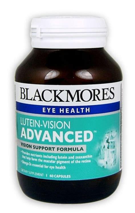 Blackmores Lutein Vision Jual Vitamin Mata buy blackmores lutein vision advanced capsules 60 at health chemist pharmacy