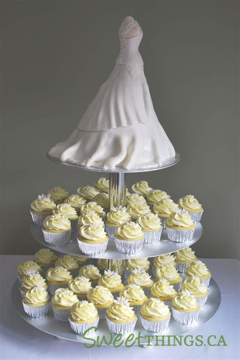 Cupcakes For Bridal Shower by Sweetthings Bridal Shower Cake N Cupcakes