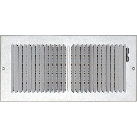 Ceiling Air Vents Home Depot by Speedi Grille 6 In X 14 In Ceiling Sidewall Vent