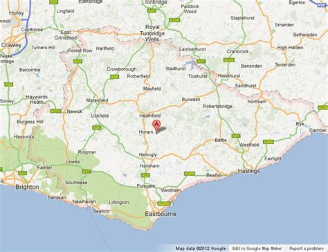 map uk east map of east sussex uk