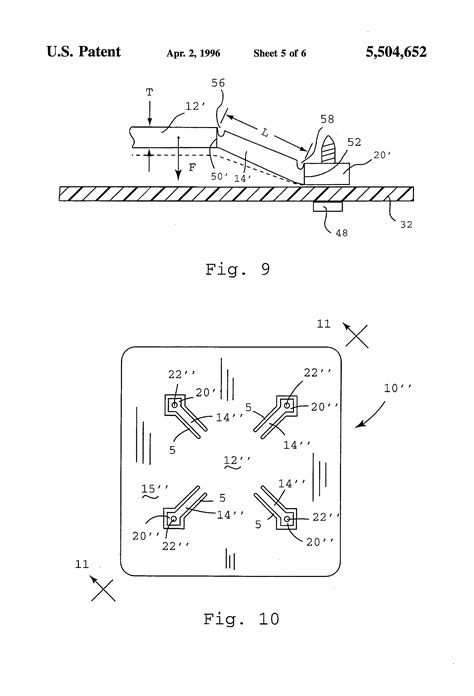 heat sink for integrated circuit patent us5504652 unitary heat sink for integrated circuits patents