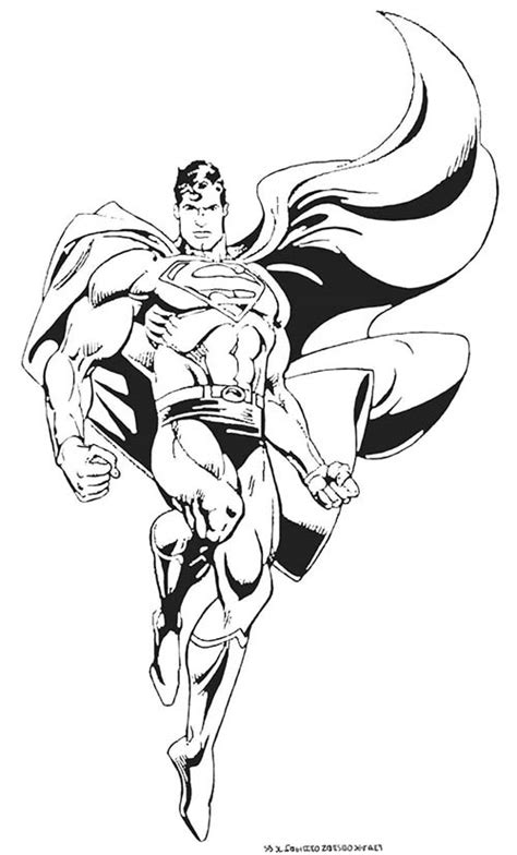 Coloriage Superman Superman Man Of Steel