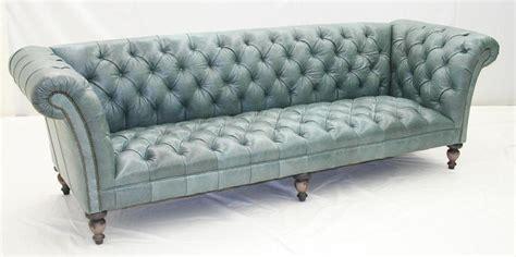 aqua tufted leather sofa luxury furniture