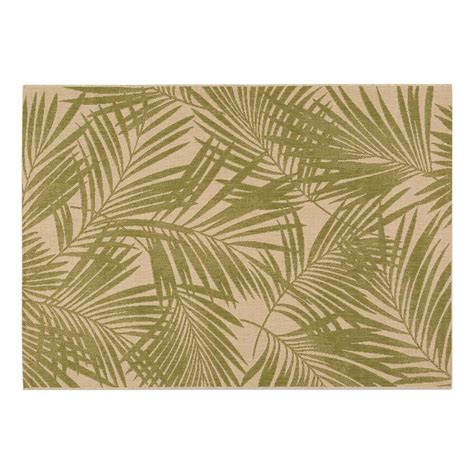 Outdoor Rugs 8x10 Shop Garden Treasures Pultney Essenza Green Sand Rectangular Indoor Outdoor Machine Made