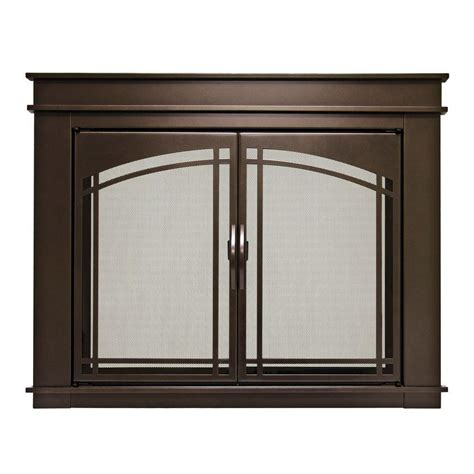 home depot glass fireplace doors fireplace glass doors home depot pleasant hearth large