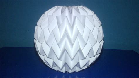 tutorial 3 folding ball with pattern miura neospica