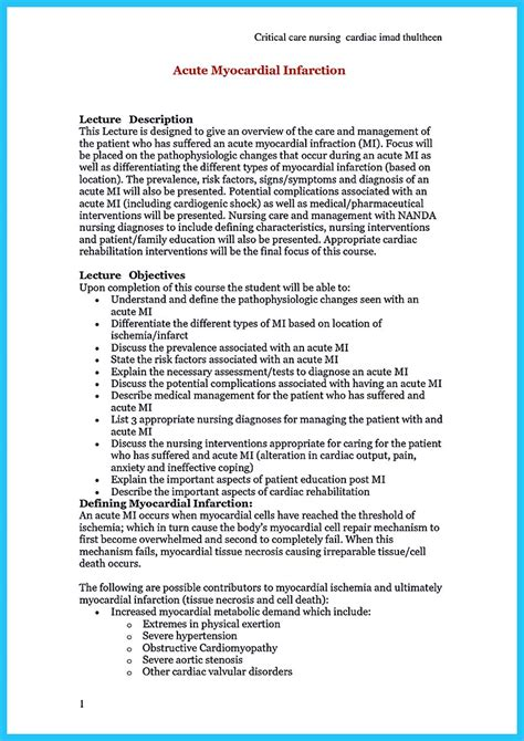 Critical Care Resume by High Quality Critical Care Resume Sles