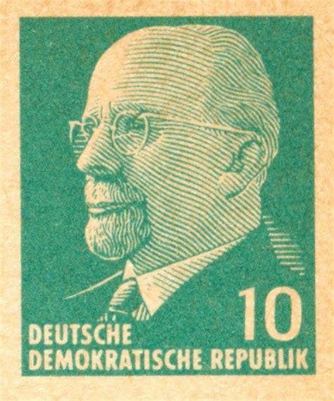 Postkarten Drucken Hohe Qualität by Ddr 1961 Walter Ulbircht Dauerserie Neue Forschungen
