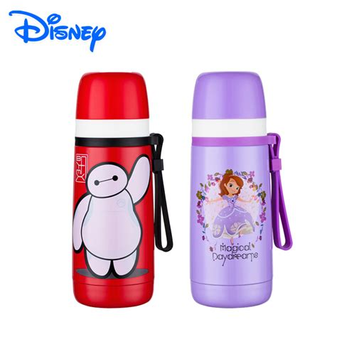 Vacuum Bottle Thermos Karakter Kartun Heroes disney brand bullet thermos bottle baymax 18 8 stainless steel thermos flask big