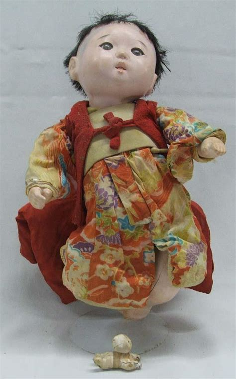 porcelain doll japanese antique japanese porcelain bisque child with doll